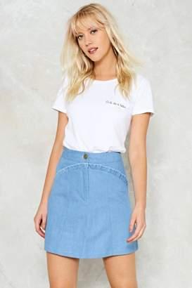 Nasty Gal nastygal Form A-Line Skirt