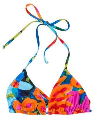 Mara Hoffman Printed Swimsuit Top