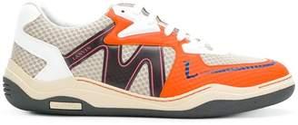 Lanvin patterned sneakers