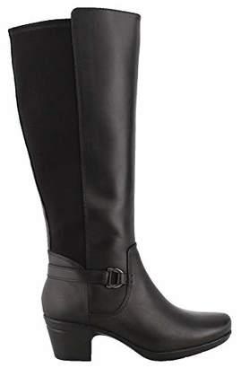 Clarks Women's Emslie March Wide Calf Fashion Boot