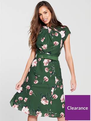 Phase Eight Helena Floral Dress - Jade