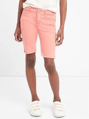 Gap Bermuda Shorts in Color with Stretch