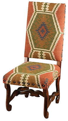 One Kings Lane Atticus Chair - Rust/Walnut
