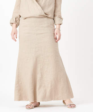 SHENERY (シーナリー) - シーナリー)レディース リネンマーメイドマキシスカート