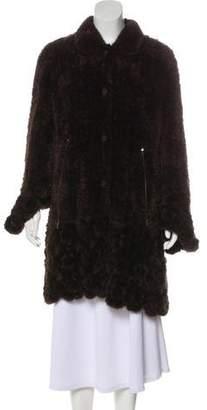 Fur Knit Coat