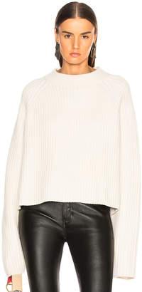 Proenza Schouler Cashmere Blend Mockneck Sweater