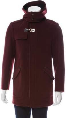 Salvatore Ferragamo Hooded Toggle Jacket w/ Tags