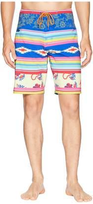 Toes on the Nose Serape Boardshorts Men's Swimwear