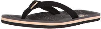 Reef Girls' Little Ahi Lite Black Flip Flops, Bla