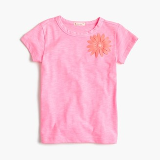 Girls' embellished flower T-shirt $29.50 thestylecure.com