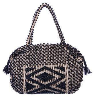 Antonello Pom-Pom Embellished Shoulder Bag