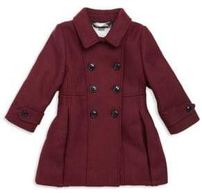 Burberry Baby's& Toddler's Frie Double Breasted Coat