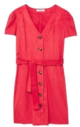 MANGO Buttoned dress
