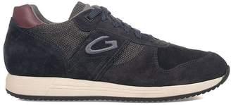 Alberto Guardiani Bordeaux/blue Sport Man Fresno Suede Sneakers