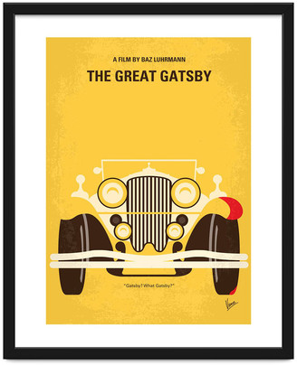 The Great Monde Mosaic Gatsby Minimal Print - 40x50cm
