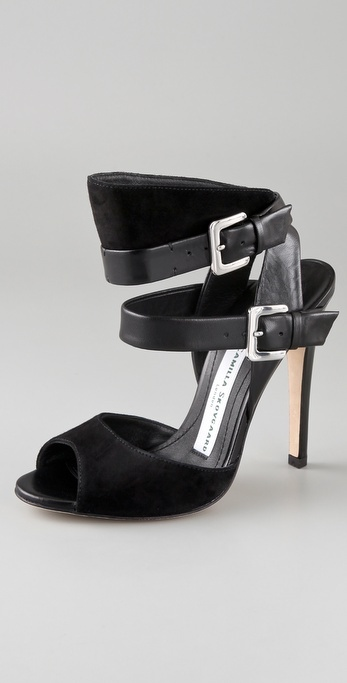 Camilla Skovgaard Buckle Strap High Heel Sandals