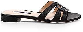 Stuart Weitzman Women's Cami Leather Sandals