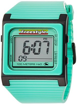 Freestyle (フリースタイル) - [フリースタイル]Freestyle スポーツウォッチ SPEED DIAL デジタル表示 10気圧防水 ストップウォッチ・タイマー機能付き グリーン FS84854 メンズ 【正規輸入品】