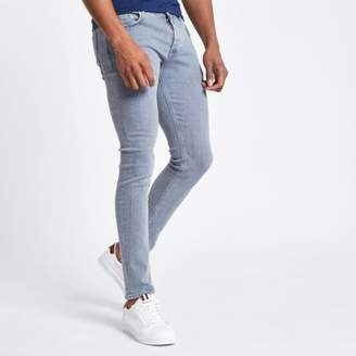 River Island Grey Eddy skinny jeans