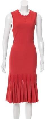 Alaia Midi Knit Dress
