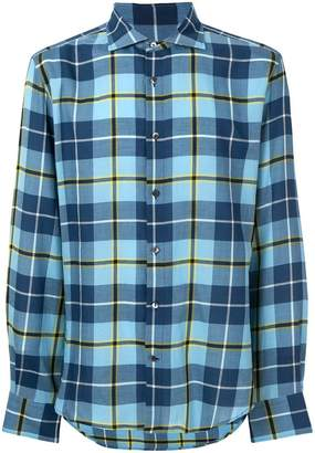 Ermanno Scervino checked casual shirt