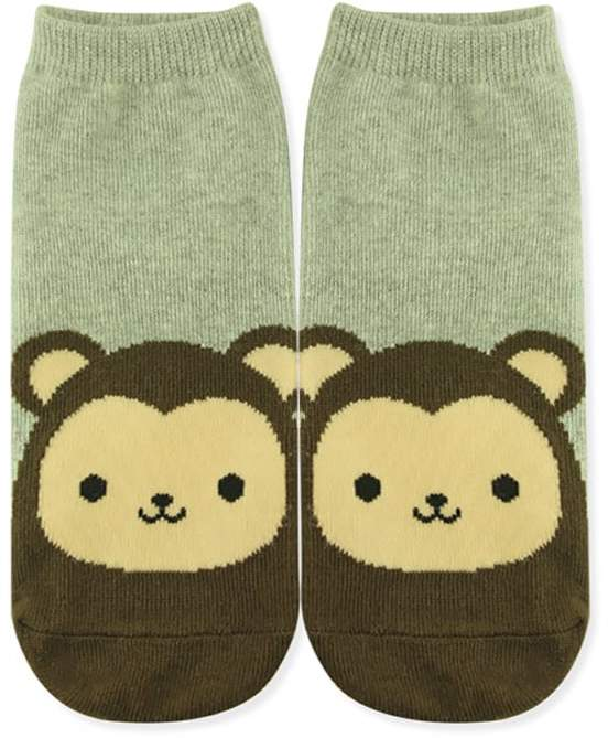 Bear Face Ankle Socks