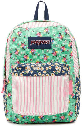 JanSport High Stakes - Ditzy Patchwork Backpack