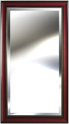 Asstd National Brand Pinnacle Wood-Tone Mirror with Bead Accent