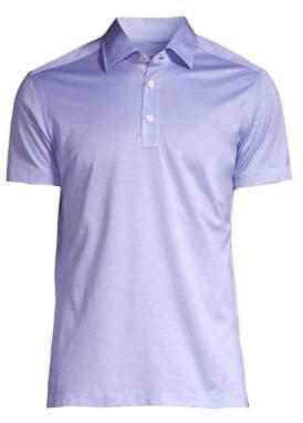 Kiton Pique Short-Sleeve Polo
