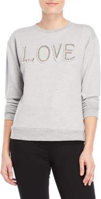 Generation Love Free Faux Pearl Sweater