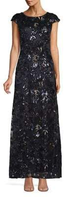 Decode 1.8 Sequined Mesh Gown