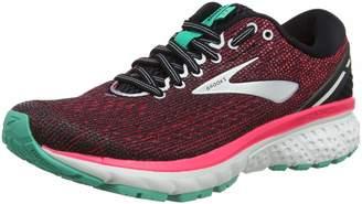 Brooks Women's Ghost 11 Running Shoe (BRK-120277 1B 40850A0 9.5 Gry/SIL/WHT)