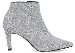 Vero Moda Glitter Point-Toe Booties