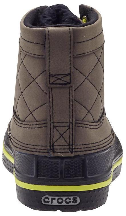 Crocs Allcast Leather Duck Boot (Toddler/Youth)