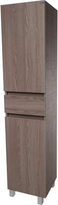 URBAN RESEARCH AGM Home Store Floor Standing/ Wall Mounted Storage Tall Bathroom Cabinet, 1 Drawer and 2 Estepa)