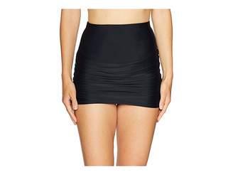 Unique Vintage Calliope High-Waist Swim Skirt