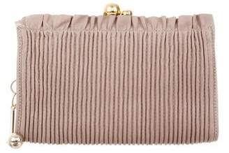 Reed Krakoff Pleated Leather Wallet