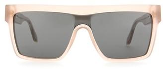 Flat Top Visor sunglasses