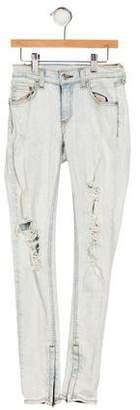 Rag & Bone Girls' Distressed Skinny Jeans