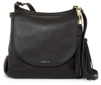Louise et Cie Prim Leather Shoulder Bag $278 thestylecure.com