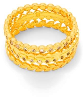 Gorjana (ゴリアナ) - gorjana Stackable Set of 4 Band Rings