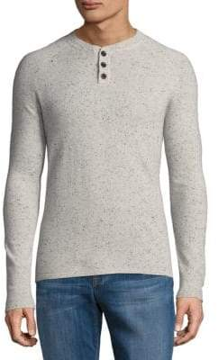 Saks Fifth Avenue Donegal Cashmere Henley