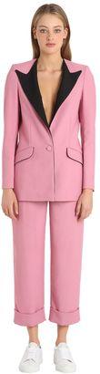 Viscose Crepe Boyfriend Suit $590 thestylecure.com