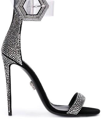 Philipp Plein crystal embellished sandals