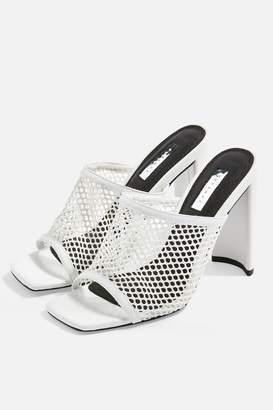 Topshop RYDER Mesh Mule Sandals