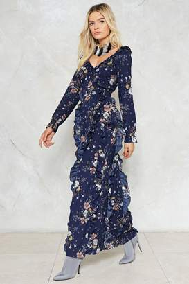 Nasty Gal Action this Day Floral Dress