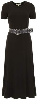 MICHAEL Michael Kors Jersey Dress With Belt