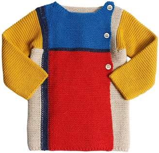 Oeuf Mondrian Baby Alpaca Knit Sweater
