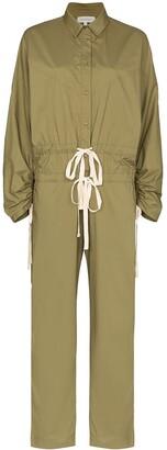 Lee Mathews drawstring cargo jumpsuit