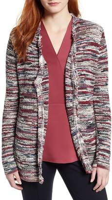 Nic+Zoe Polished Ease Cotton Blend Cardigan
